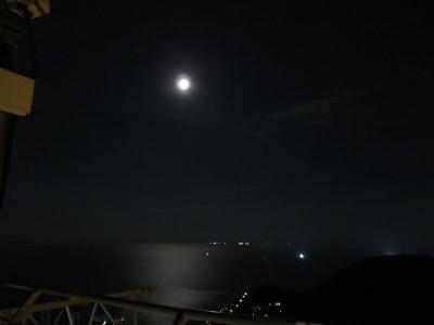 2016社員旅行で函館泊まってフェリーで大間(2_やっぱり夜景)
