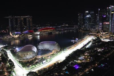 F1シンガポールGPとティオマン島旅行 その1 「初めての市街地レース観戦」