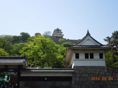 日本100名城巡り 岡山を起点に中国四国7城を巡る旅 2 香川編
