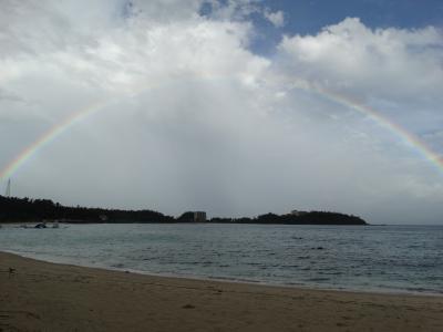 台風に秋雨前線 悪天候に慶良間へ・・・。