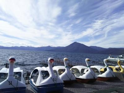 札幌に遊びに来た母と 札幌散策〜支笏湖