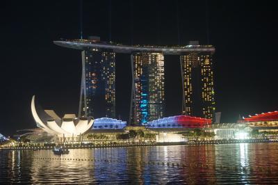 シンガポール旅行 4日目 ジャンボチリクラブ、マリーナベイサンズ