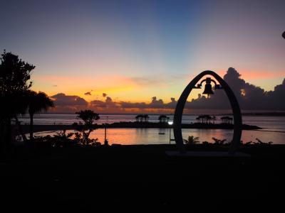 暑い、熱い沖縄の旅