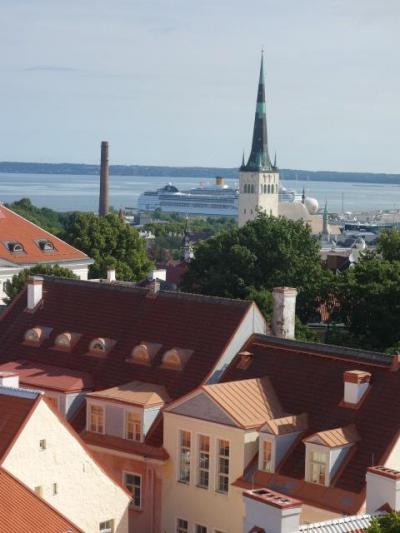 ヴェニスでのAFSボランティア夏季大会(1)エストニア・タリン立ち寄り