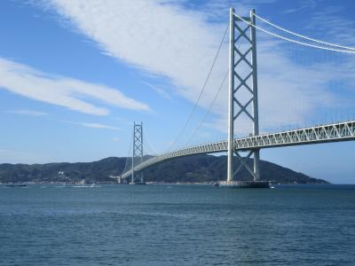 明石海峡大橋は見どころいっぱい