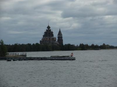 2度目のロシア、おばさんの一人旅、夜行寝台列車でキジ島へ