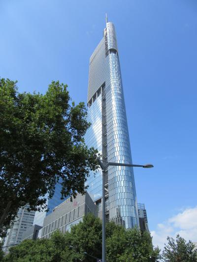南京の宿はインターコンチネンタル南京