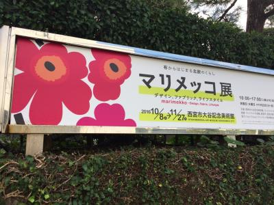 (備忘録)大阪学会そしてマリメッコ展2