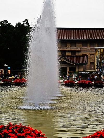 上野恩賜公園 竹の台噴水広場 次は東京五輪2020・・ ☆リオパラリンピック開催中