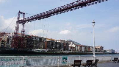 動く道路?! 世界遺産のビスカヤ橋 -Bilbao Spain- *The Vizcaya Bridge*