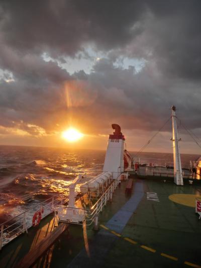 船で韓国へ行く旅(1)境港から日本海をわたる《往路》