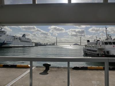 船で韓国から帰る旅(4)福岡へ玄界灘をわたる《復路》
