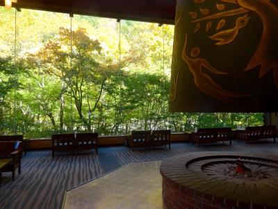 星野リゾート奥入瀬渓流ホテルで秋を満喫