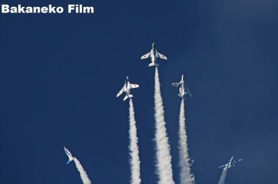ブルーインパルス 奈良を飛ぶ 2016