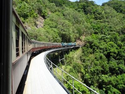 2016年5泊8日オーストラリア(ケアンズ+ハミルトン島)旅行記2 キュランダ観光