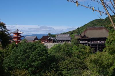 2016年10月10日一時帰国休暇 京都旅行
