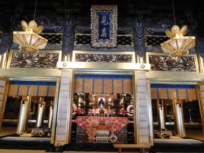 2016年 京都四閣めぐり 2日目 西本願寺の伝灯法要時期中、飛雲閣でお茶を頂きました
