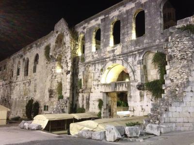 2016秋クロアチアドライブ旅行 その4 スプリット散策