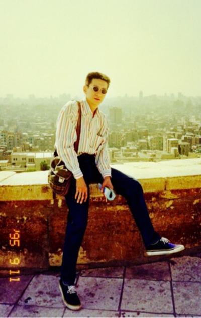 追憶   7   イスラム  カイロ  シタデルの 風に吹かれて   1995