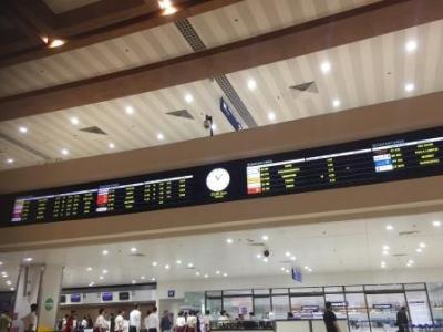 マニラ空港第一ターミナルで一晩明かして帰国