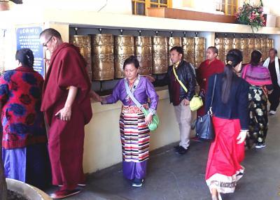 ダライラマの住むダラムシャラ―訪問