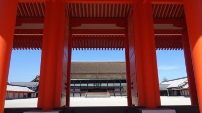2016初秋の京都~御所から仁和寺とフジバカマ