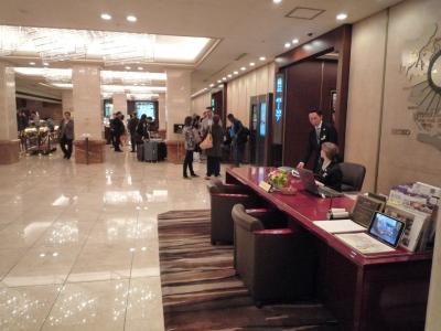 東京競馬場へ行くため京王プラザホテルに宿泊した