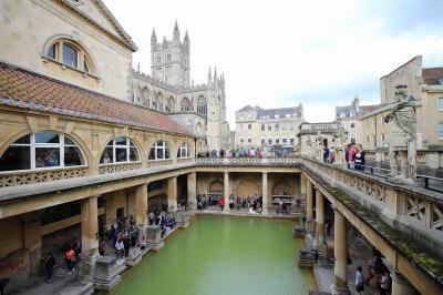 南イングランド旅行 その6 ローマ時代の温泉街バース
