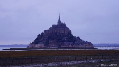 """これが""""西洋の驚異""""か!フランスの至宝「モンサンミッシェル」"""