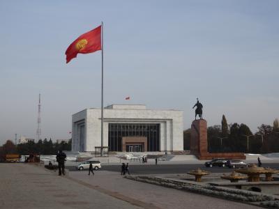 アジア3カ国巡り~キルギスの首都、ビシュケク~