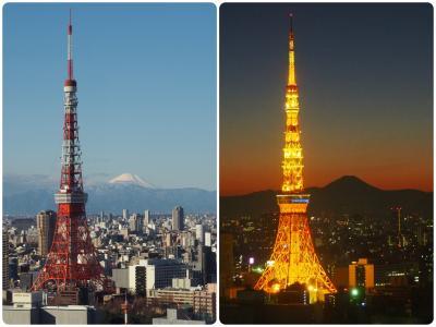 東京タワーと富士山の見える部屋【パークホテル東京】