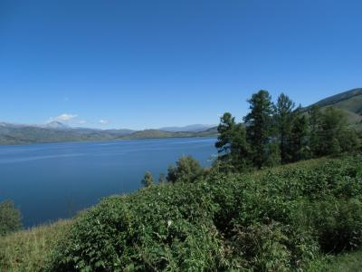 東カザフスタン アルタイの真珠 マルカコリ湖紀行 湖畔散策 第2日目