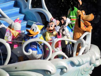 2017年元旦 ディズニーリゾートのお正月を堪能 大阪人 ①はじまり。