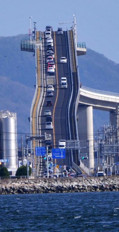 2016年冬 青春18の旅(2) 境港と江島大橋
