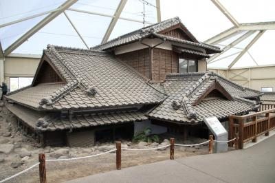 雲仙温泉・南風楼に宿泊して道の駅みずなし本陣ふかえと土石流被災家屋保存公園訪問