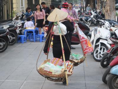 ANAマイル利用 初めてのベトナム ハノイぶらり一人旅