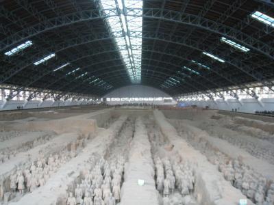 西安の「秦始皇兵馬俑博物館」訪問(2009年)