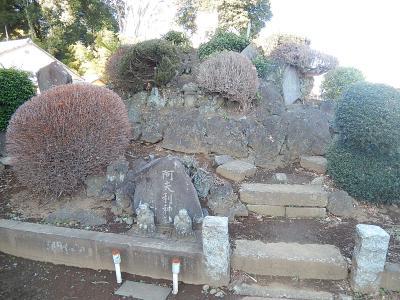 三角の浅間神社を訪問する