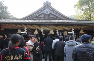 宗像大社と宮地嶽神社参拝