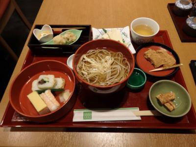 春の京都・大阪旅行 ④ [1日目] (京料理の夕食、近鉄でホテルへ)