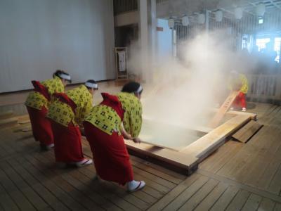草津温泉 宿泊は老舗の大阪屋、日帰入浴は猫ちゃんの宿中村屋、老舗の山本館、大滝の湯と温泉三昧