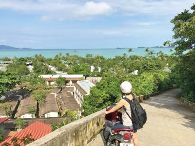 サムイ島でダイビング&バイクツーリング