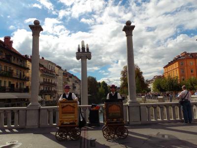 ヨーロッパ3ヶ国の旅 03:スロベニアの首都リュブリャナ