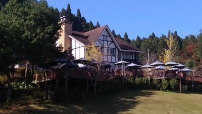 紅葉・雲海の『山上人家森林農場』と『清泉温泉』