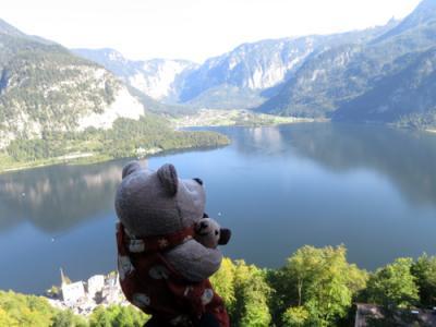 2016年9月オーストリア(6)ハルシュタット 世界遺産展望橋とヘリテージ ホテル