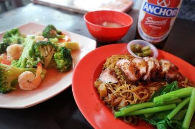 年末年始マレーシア 2度目はローカルに!クアラルンプールでフードコートから市場まで 食べ飲み夫婦旅