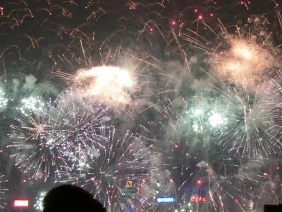2016-2017 香港カウントダウン花火 2日目(大晦日)