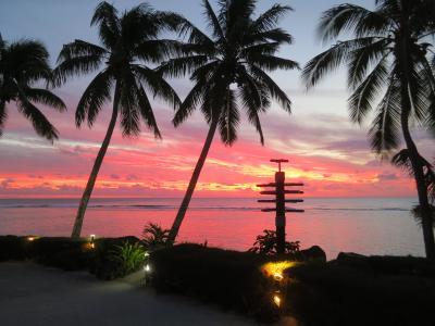 2016デルタ・スカイマイル特典航空券で行くクック諸島(その1・島のリゾートホテル滞在編)