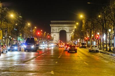 厳冬のパリに行ってきました