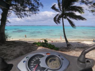 2016デルタ・スカイマイル特典航空券で行くクック諸島(その2・ラロトンガ島1周編)